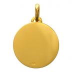 (FMED.Méd.couMdP.Au11) Médaille de cou or - Le Petit Prince sur sa planète Revers