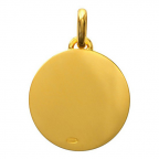 (FMED.Méd.couMdP.Au13) Médaille de cou or - Le Renard Revers