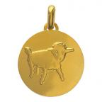 (FMED.Méd.couMdP.Au2) Médaille de cou or - []Dessine-moi un mouton[] Avers