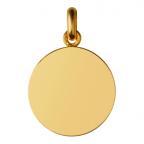 (FMED.Méd.couMdP.Au3) Médaille de cou or - Le Petit Prince Revers