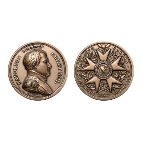 Médaille bronze - 17ème effigie de Napoléon Ier (visuel supplémentaire)