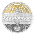 10 euro France 2015 argent BE - Hôtel des Invalides et Grand Palais Avers