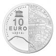 10 euro France 2015 argent BE - Hôtel des Invalides et Grand Palais Revers