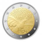 2 euro commémorative France 2015 - Paix en Europe