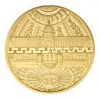200 euro France 2015 or BE - Hôtel des Invalides et Grand Palais Avers