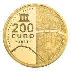 200 euro France 2015 or BE - Hôtel des Invalides et Grand Palais Revers