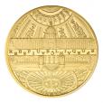 5 euro France 2015 or BE - Hôtel des Invalides et Grand Palais Avers