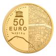 50 euro France 2015 or BE - Hôtel des Invalides et Grand Palais Revers