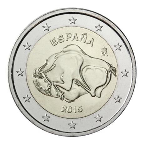 2 euro commémorative Espagne 2015 - Grotte d'Altamira