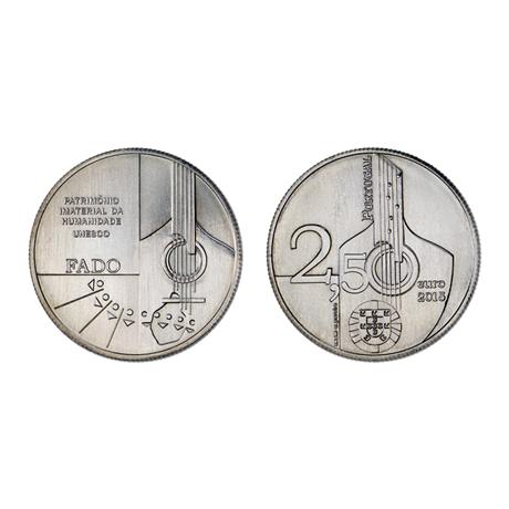 2,50 euro Portugal 2015 - Le fado (visuel complémentaire)
