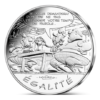 10 euro France 2015 argent - Egalité (Le cadeau de César) Avers