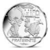 10 euro France 2015 argent - Fraternité (Astérix aux Jeux olympiques) Avers