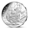 10 euro France 2015 argent - Liberté (Astérix chez les bretons) Avers