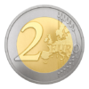 2 euro commémorative Lettonie 2015 - Présidence du Conseil de l'UE Revers