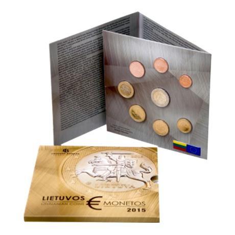 Coffret BU Lituanie 2015