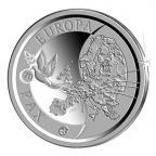 10 euro Belgique 2015 argent BE - Paix en Europe Revers