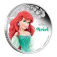 2 dollars Niue 2015 1 once argent BE - La Petite Sirène Revers (visuel supplémentaire)