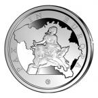 20 euro Belgique 2015 argent BE - Enlèvement d'Europe par Zeus Revers