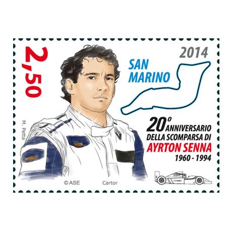 2,50 euro Saint-Marin 2014 - Ayrton Senna