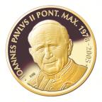 5 euro Malta 2015 Proof gold - John Paul II Reverse