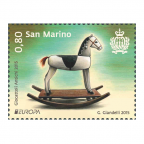 (PHILEUR18.080.2015.1) 0,80 euro Saint-Marin 2015 - Jouets anciens
