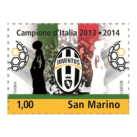 (PHILEUR18.100.2014.1) 1 euro Saint-Marin 2014 - Juventus