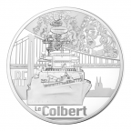 10 euro France 2015 argent BE - Le Colbert Avers