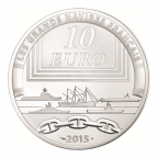10 euro France 2015 argent BE - Le Colbert Revers