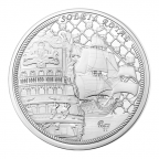 10 euro France 2015 argent BE - Le Soleil Royal Avers
