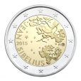 2 euro commémorative Finlande 2015 - Jean Sibelius Avers