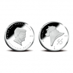 5 euro Pays-Bas 2015 argent BE - Bataille de Waterloo (visuel triptyque)