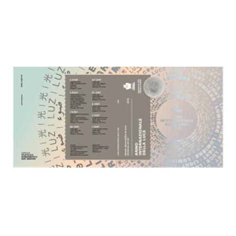 Coffret BU Saint-Marin 2015 (Année internationale de la lumière) (visuel complémentaire 1)