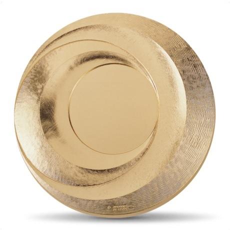 (FMED.Méd.MdP.CuSn.100112200600B0) Médaille presse-papiersbronze-Objectif Avers