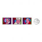 (Srs.PHILEUR18.070.2015,200.2015&215.2015.1) Saint-Marin 2015 - Jean-Paul II (série des 3 timbres) (premier jour)