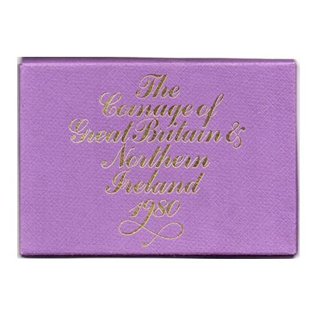 (W185.CofBE.1980.1.000000001) Coffret BE Royaume-Uni 1980 (étui)
