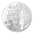 10 euro France 2015 argent BE - Première Guerre mondiale Avers