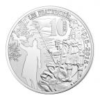 10 euro France 2015 argent BE - Première Guerre mondiale Revers