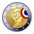 2 euro commémorative France 2015 BE - Fête de la Fédération Avers