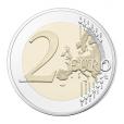 2 euro commémorative France 2015 BE - Fête de la Fédération Revers