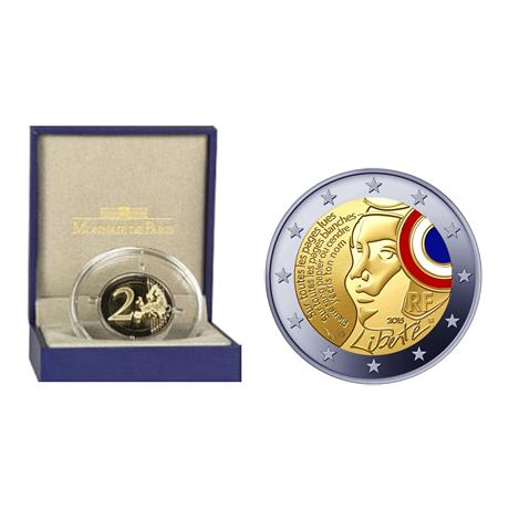 2 euro commémorative France 2015 BE - Fête de la Fédération (visuel supplémentaire)