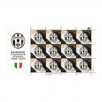 (PHILEUR18.feuillets.2015.2) Feuillet 12 x 2 euro Saint-Marin 2015 - Juventus