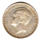 (W176.0200.1.1909.1.000000001) 200 Reis Emmanuel II 1909 Avers