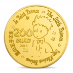 200 euro France 2015 or BE - Le Petit Prince Revers