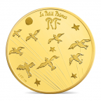 5 euro France 2015 or BE - Le Petit Prince Avers