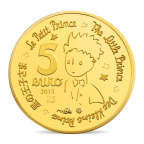 5 euro France 2015 or BE - Le Petit Prince Revers