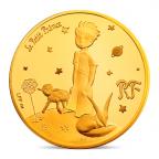 50 euro France 2015 or BE - Le Petit Prince ([]Dessine-moi un mouton[]) Avers