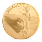 50 euro France 2015 or BE - Le Petit Prince ([]Les étoiles sont des guides[]) Avers