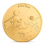 50 euro France 2015 or BE - Le Petit Prince ([]L'essentiel est invisible pour les yeux[]) Avers