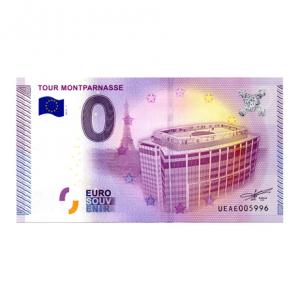(EURBILLS.000.2015.RF.1.E.UEAE005996) 0 euro France 2015 - Tour Montparnasse Recto