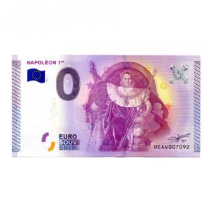 (EURBILLS.000.2015.RF.7.E.UEAV007092) 0 euro France 2015 - Napoléon Ier Recto